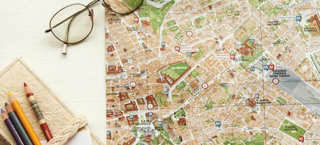 Europa Coaches, map